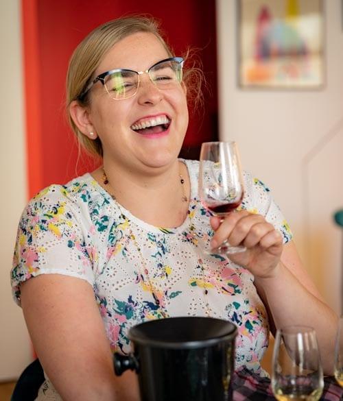 Caroline Conner wine tasting teacher of online wine courses