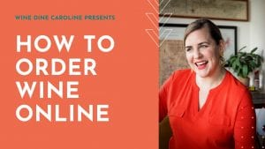 how to order wine online