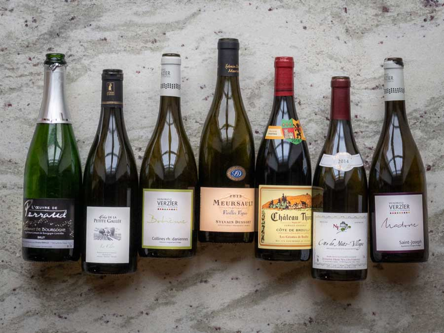 wines with varying alcohol content.