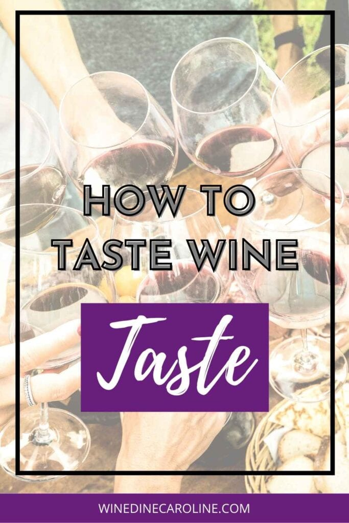How to Taste Wine - Taste - Part 3 pinterest